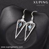Gros en Chine les cristaux de Swarovski or plaqué rhodium Earrings