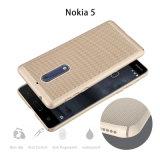 Het Geval van PC NET van het Olieverfschilderij van het metaal voor Nokia 5