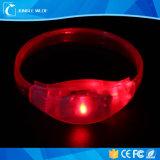 Оптовым дистанционное управление Wristband партии активированное звуком СИД