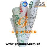 Qualitäts-weißes Verpacken- der Lebensmittelpapier verwendet auf Nahrungsmittelbereich