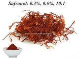 Crocine normale 95%, Safranal 0.2%-0.34% d'extrait de safran de 100%