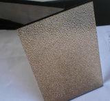 4mm 5mm Nashiji Bronze Vidro Estampado Figura Copo