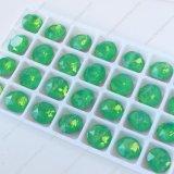 Dekorativer grüne FarbekristallRhinestone für Schmucksache-Zubehör