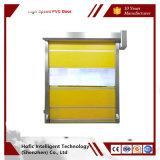 Portes temporaires rapides automatiques d'obturateur de rouleau de PVC