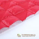 Diseño de nuevos tejidos de poliéster 100 más populares de tafetán acolchado tejido mochila