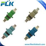 Adattatore ottico duplex della fibra di LC con il nuovo cappuccio parapolvere