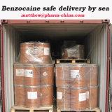 99.96% Сырцовая поставка сейфа Benzocaine USP37 100% порошка