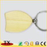 Цепь деревянное Keychain градации деревянная ключевая