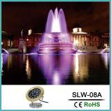 RGB LED Nuevo Diseño de protección IP68 bajo el agua de la luz de la fuente
