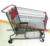 대형 슈퍼마켓 바구니 트롤리 250L 미국식 대형 슈퍼마켓 바구니 손수레