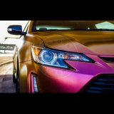 カメレオンのスプレー式塗料、Kameleon車は顔料、カラーシフト着色剤を撮影する