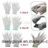 ESD de Grijze Geleidende Hoogste Geschikte Handschoenen van de Koolstof