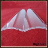 Borrar la hoja fundida de la placa de cristal de cuarzo del arco para el curado ULTRAVIOLETA