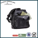 Оптовая торговля водонепроницаемый мешок для сшивания черная Водонепроницаемая сумка для переноски рюкзак Sh-17090138 верхней части стойки стабилизатора поперечной устойчивости