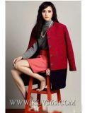 Capa de lana de las mujeres calientes de la venta del invierno caliente de la manera