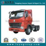 Caminhão do trator da cabeça 6X4 do trator de Sinotruk HOWO A7 420HP
