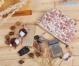 2017 نمو ترقية نوع خيش يطبع مستحضر تجميل يجعل حقيبة فوق حقيبة نساء مستحضرات تجميل حقيبة