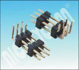 PH : 1,27 mm Boîtier à double rangées à double broche broche du connecteur de barre de coupe à angle droit