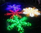Nova combinação de Floco de Neve Snowflakes Gelo Decoração de luzes de LED