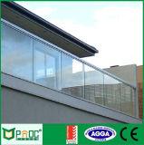 Frontière de sécurité en verre en aluminium de Pnoc081801ls avec la norme australienne