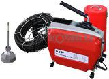 D150 막히는 뱀 배수관 청소 기계 전기 세탁기술자