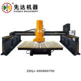 Automatische Steinausschnitt-Infrarotmaschine der brücken-Zdqj-450/600/700