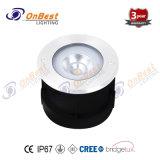 Preço competitivo Piscina luz LED de 5 W luz subterrâneo no IP67