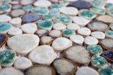 Restaurante La fábrica de la superficie plana del mercado de Japón baldosas mosaico de cristal 6mm