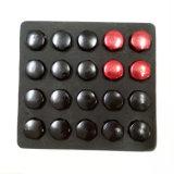 19 écrous de blocage rouges Nuts 12X1.5 de roue Hex de bombement