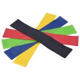 A ioga do exercício da faixa do laço da resistência de 5 PCS une a força de borracha do treinamento da aptidão