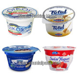 Machine van de Automatische Kop van de Drank van de yoghurt de Vullende en Verzegelende (BG60A--6C)