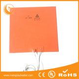 Calefator Heated personalizado da base 500mmx500mm da borracha de silicone