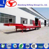 3 de Semi Aanhangwagen van Lowbed van de as in China