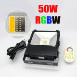 2018 Newest RVB 50W Projecteur à LED, 5 ans de garantie COB Projecteur à LED RVB
