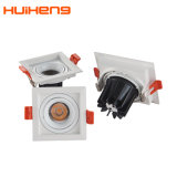 Grille réglable réglable Square Downlight LED 5 W