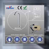 Gesundheitliche Ware-Badezimmer-Faseroptikplattform eingehangener automatischer Fühler-Hahn