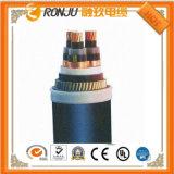 Cabo de controle flexível protegido plástico da bainha do PVC do fio de cobre da isolação do flúor de cobre do condutor