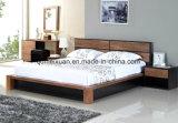 Festes hölzernes Bett-moderne doppelte Betten (M-X2298)