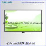 Schmaler Rahmen-ultra dünner 48 Zoll 4K Dled Fernsehapparat-Kamerad NTSC Secam Digital Fernsehapparat