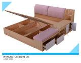 寝室の家具セットのための記憶の引出しが付いている現代様式のベッド