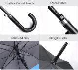 パラソルの革ゴルフ傘を広告するWholesale30インチ