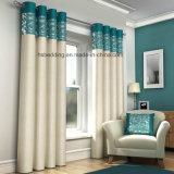 Cortina del apagón del diseño del telar jacquar de la sala de estar/del hotel de dos colores