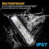 Luz impermeable al por mayor del trabajo de la viga 12W 6inch LED de la inundación de la viruta de IP67 Philip para el carro del jeep campo a través