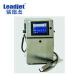 Leadjet V98 Cij Ink-Jet imprimante La plupart des bouteilles d'eau Econmical Expiration Date Code Machine d'impression