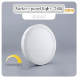 Iluminação Comercial 6W, 12W, 18W, 24W Luz do Painel de leds de montagem saliente