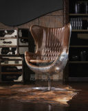 거실을%s 금속을%s 가진 고품질 포도 수확 여가 의자