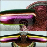 Pigmentos acrílicos da Aurora do espelho do cromo do deslocamento da cor do prego do Chameleon