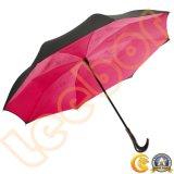 Новый дизайн зонтик красного цвета сильный дождь открыть зонтик