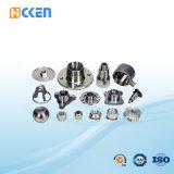 Parte interna lavorante di CNC dell'alluminio di precisione di alta qualità filettata Plumbing adattarsi
