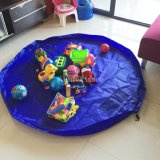 Циновка игры малышей детей Toys мешок хранения игрушки мешка устроителя быстро